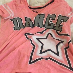 DANCE STAR TEE SZ 16